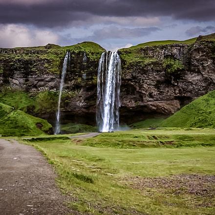 Seljalandsfoss, Canon POWERSHOT A530