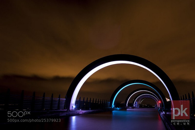 Photograph Falkirk Wheel arches by Ian Potter on 500px