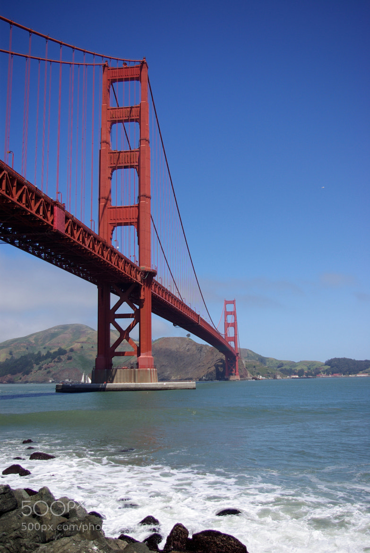 Photograph San Francisco's Bridge by Gilles Le Drian on 500px