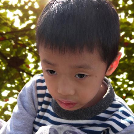 【小男孩】红儿郎 摄, Sony DSC-HX200