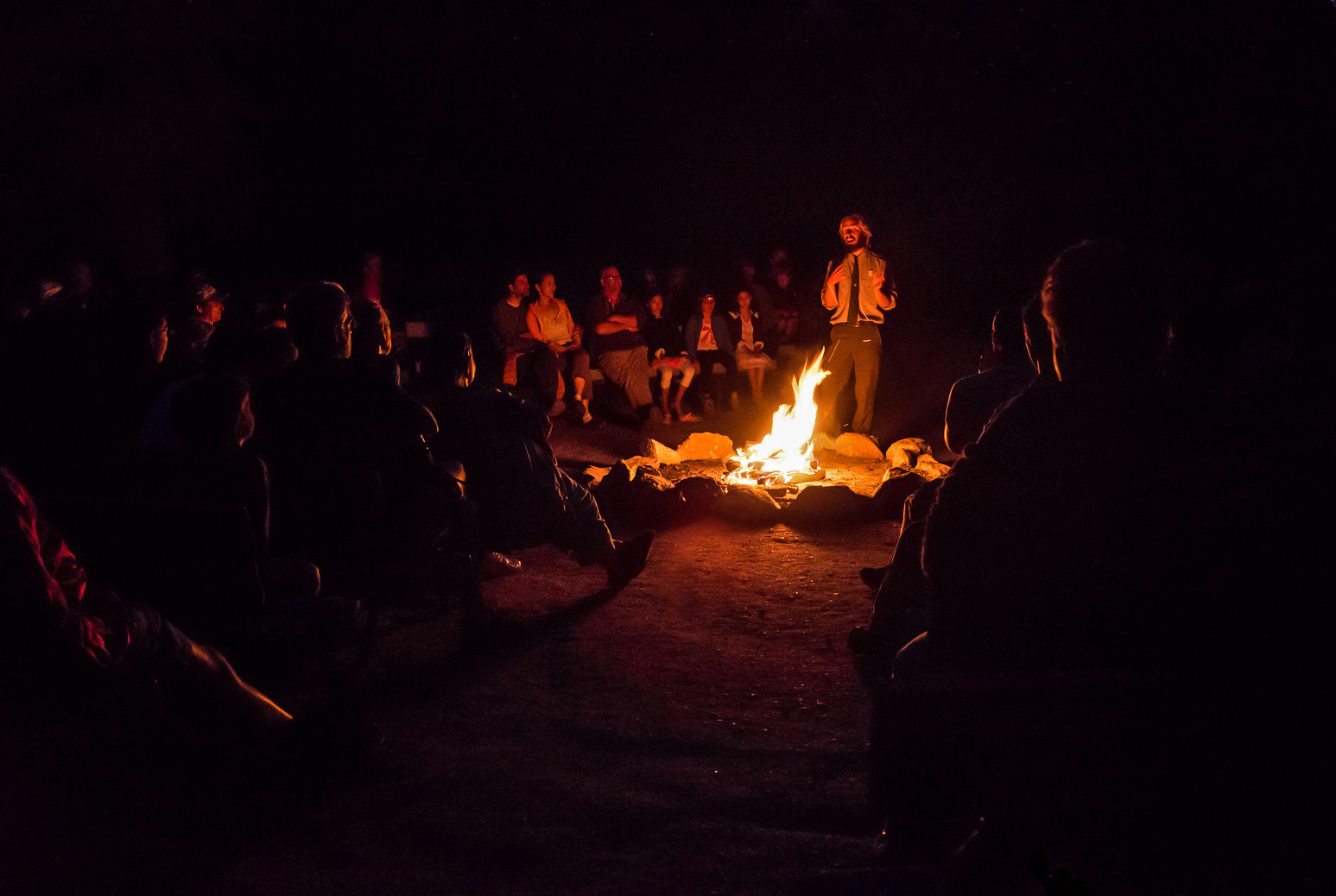 Photograph Campfire Chat by Greg Padgett on 500px