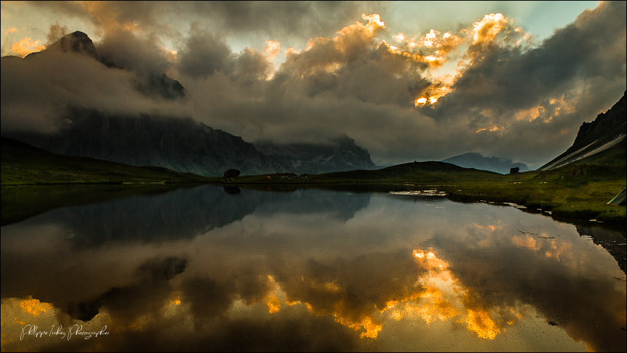 Photograph Sunset on Cerces by philippe isabey on 500px