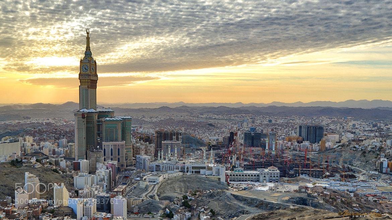 Photograph Makkah (bird's-eye) by Abdulkadir Abaz on 500px