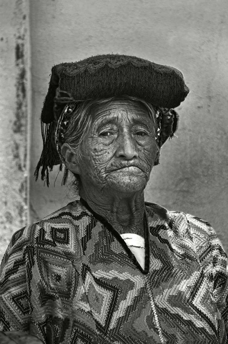 Photograph Old Woman of Almolonga by Tom Bell on 500px