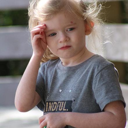 Little Girl 7623, Canon EOS REBEL T6I, Canon EF 75-300mm f/4-5.6 USM