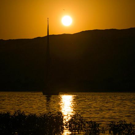 sunset, Panasonic DMC-GF8