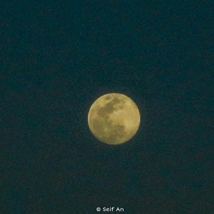 The Moon, Sony DSC-W570