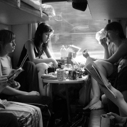Train, Canon POWERSHOT A460
