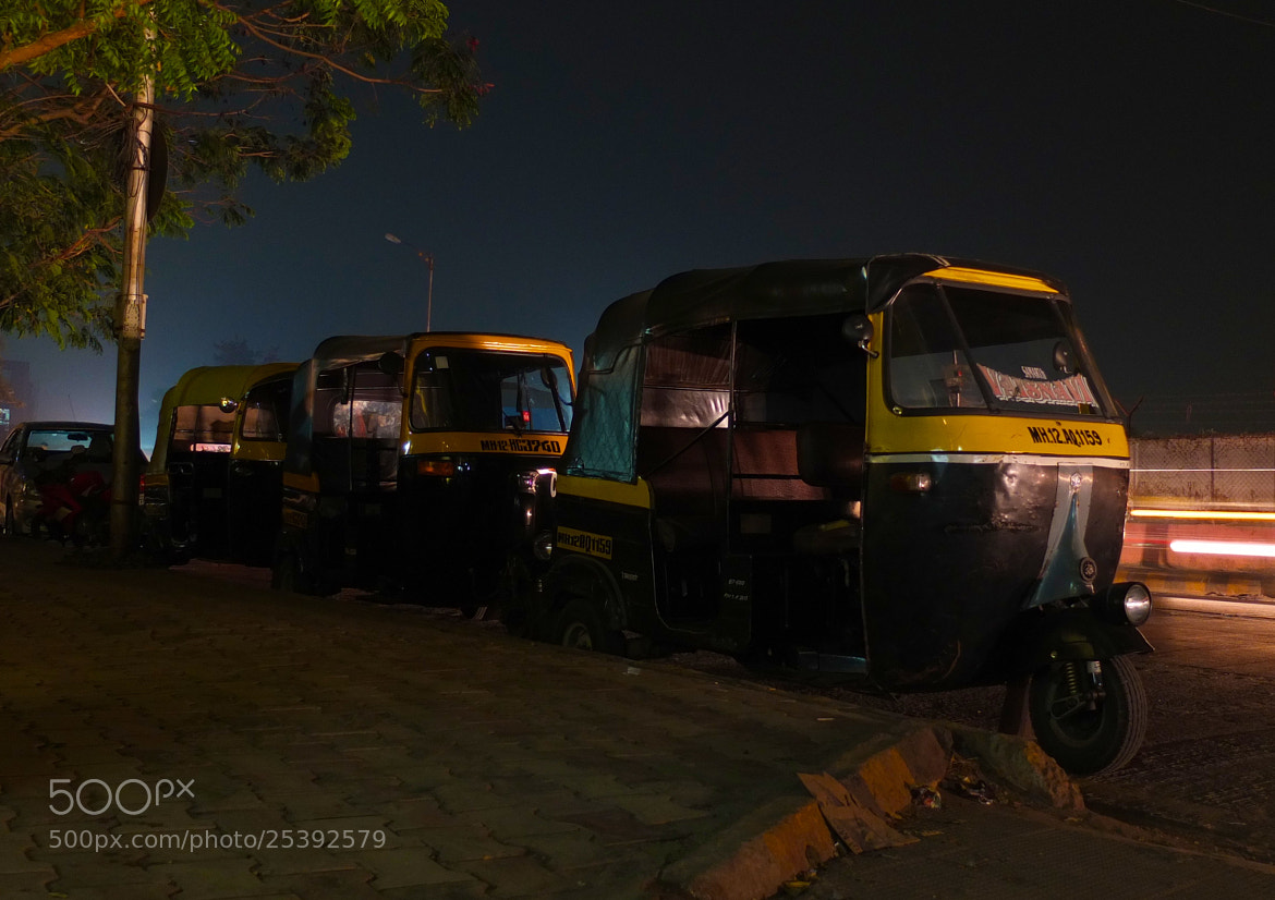 Photograph Rickshaw Stand by Chris Mills on 500px