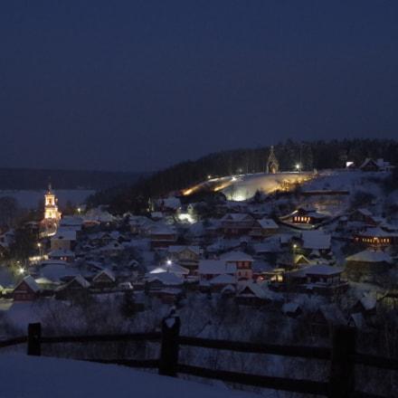 Winter, evening. Plyos, Pentax K-50, smc PENTAX-DA 35mm F2.4 AL
