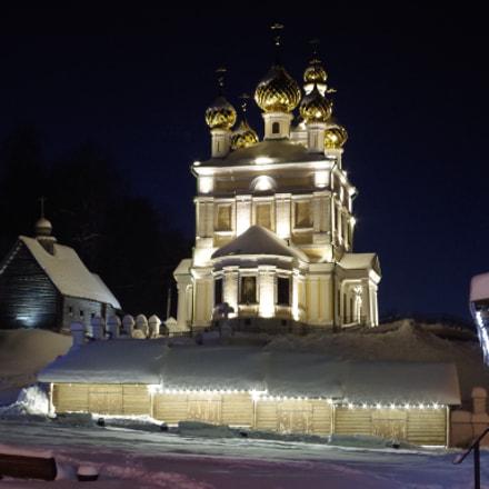 Russian Orthodox church., Pentax K-50, smc PENTAX-DA 35mm F2.4 AL