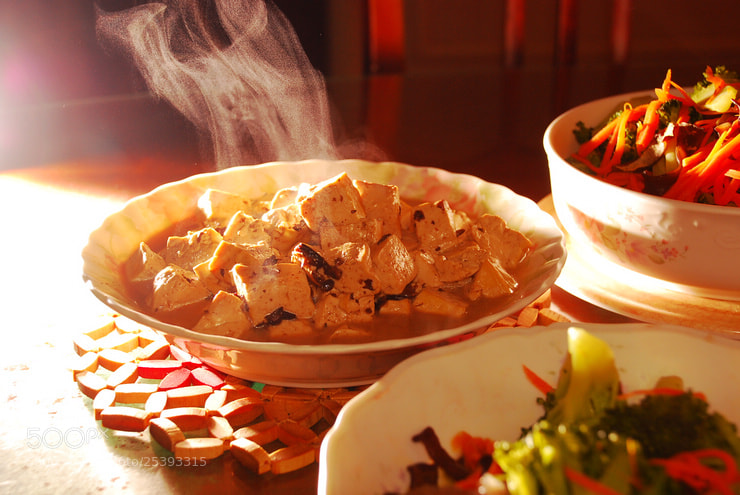 Photograph Chinese tofu by cljb Y on 500px