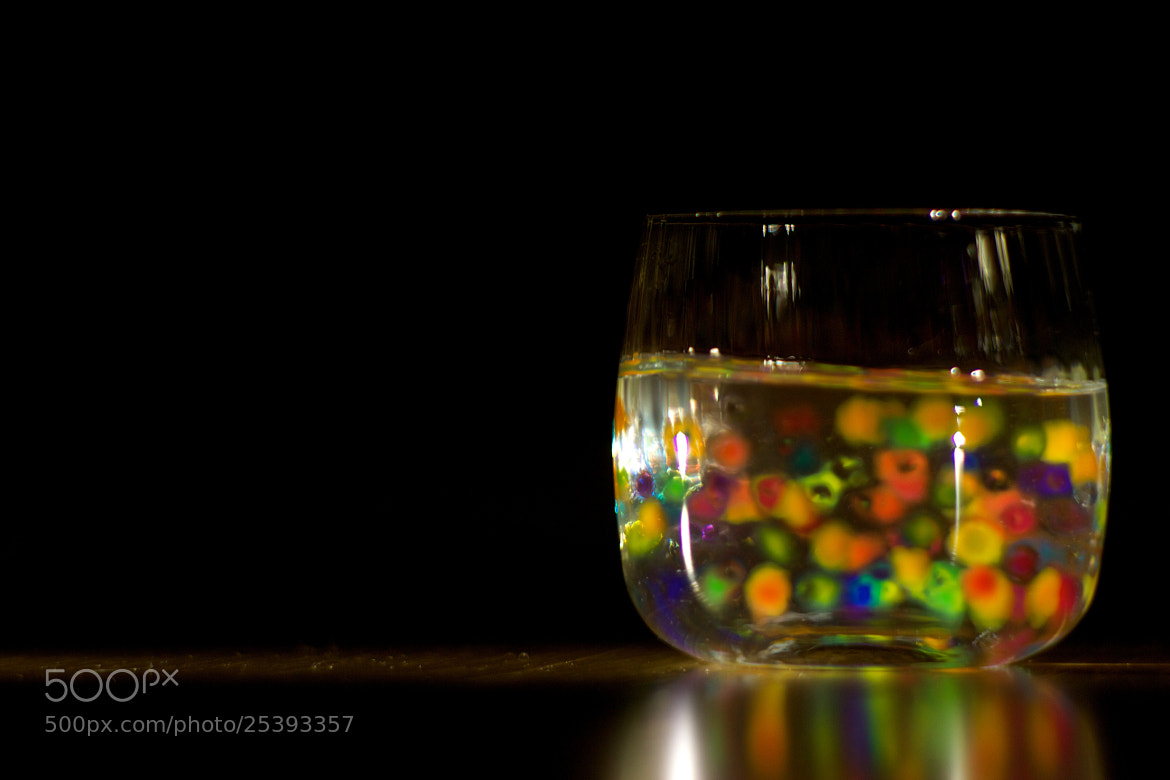 Photograph rainbow in a glass  by Natali Bartosik on 500px