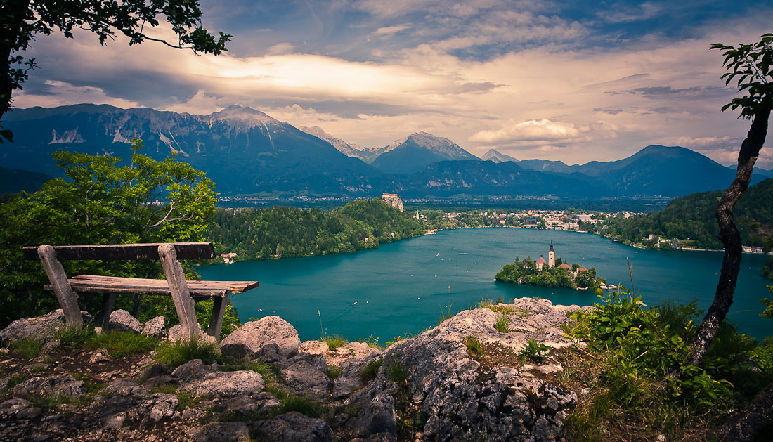 Photograph Bench with a view by Brane Kosak on 500px