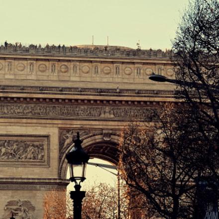 Arc de Triomphe, Sony DSC-WX100