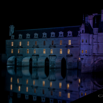 Chenonceau by night