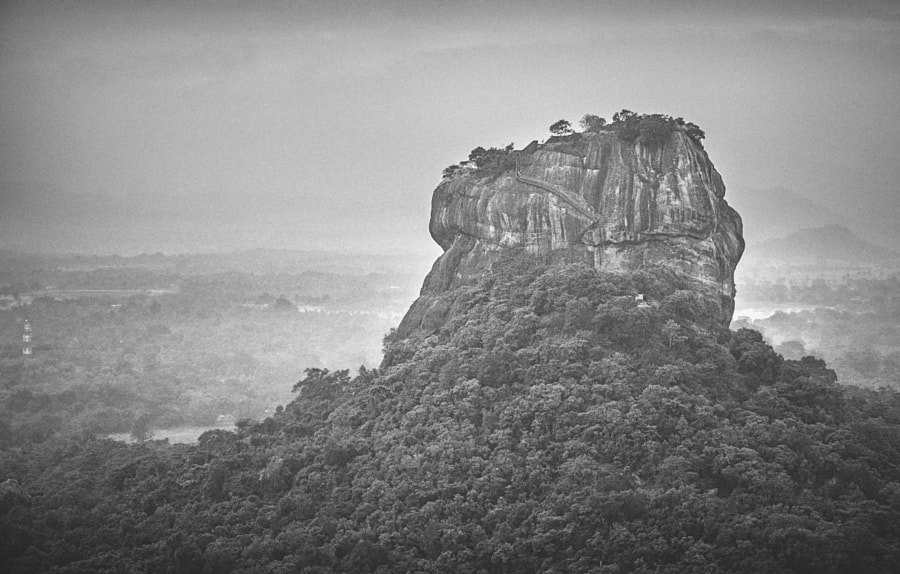 Sigiriya, from Pidurangala #8 by Son of the Morning Light on 500px.com