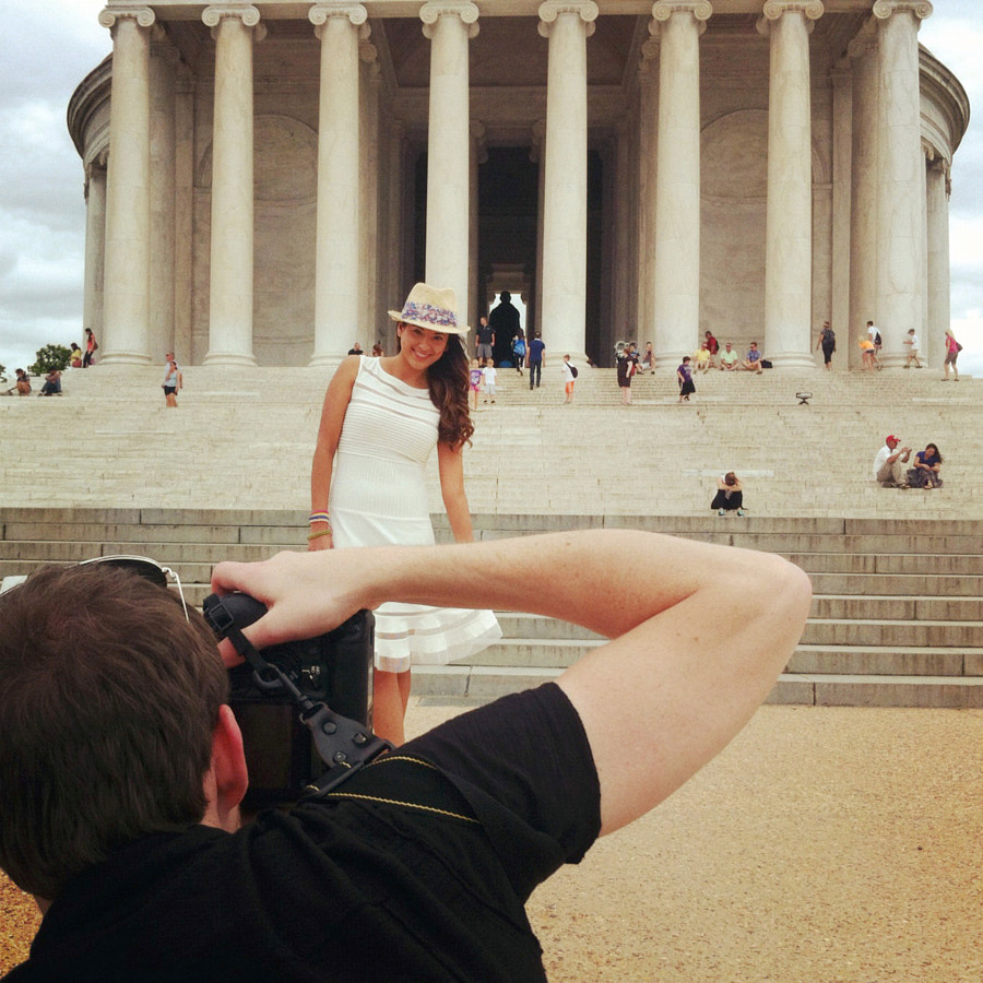 Photoshoot for Mary Kay in DC