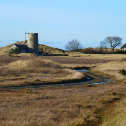 Snook Tower, Lindisfarne, Panasonic DMC-TZ18