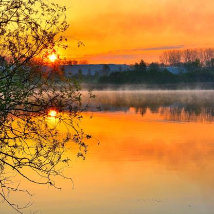 Sonnenaufgang, Nikon D7100, Sigma 17-50mm F2.8 EX DC OS HSM