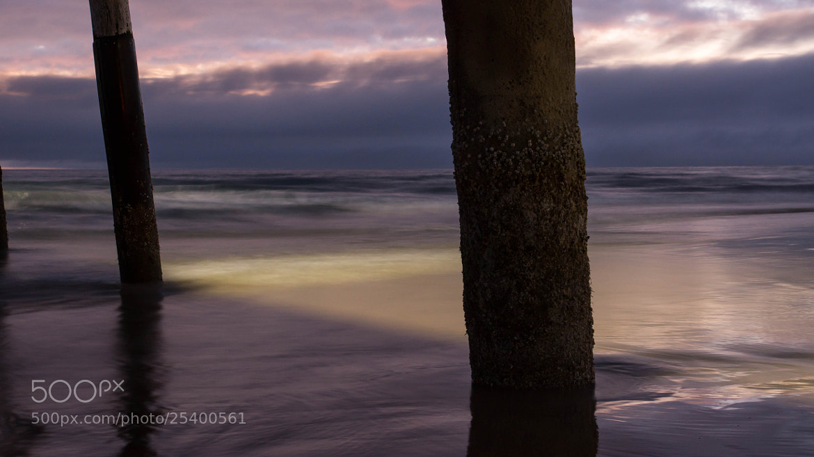 Photograph Strange Light from Under the Pier by Erik Anderson on 500px
