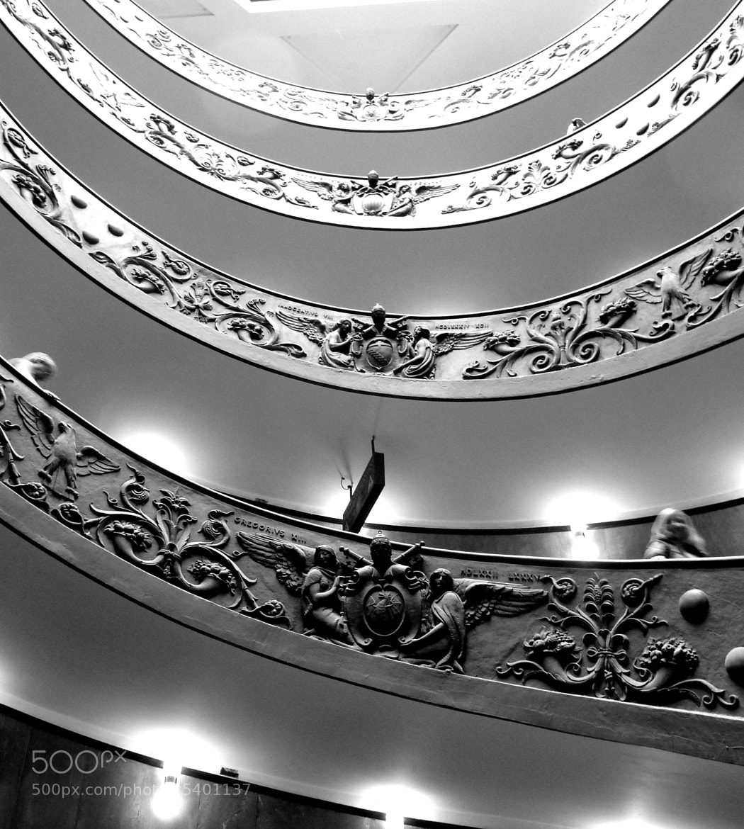 Photograph Vatican stairs by Florence Guichard on 500px