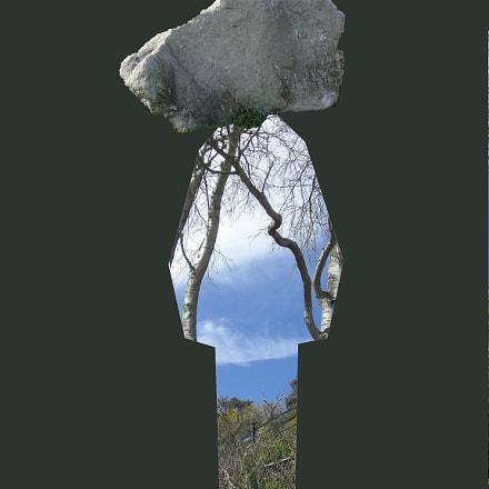 Stone Head Man, Nikon COOLPIX L12