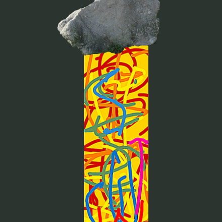 Rock Hard Abstract, Nikon COOLPIX L12