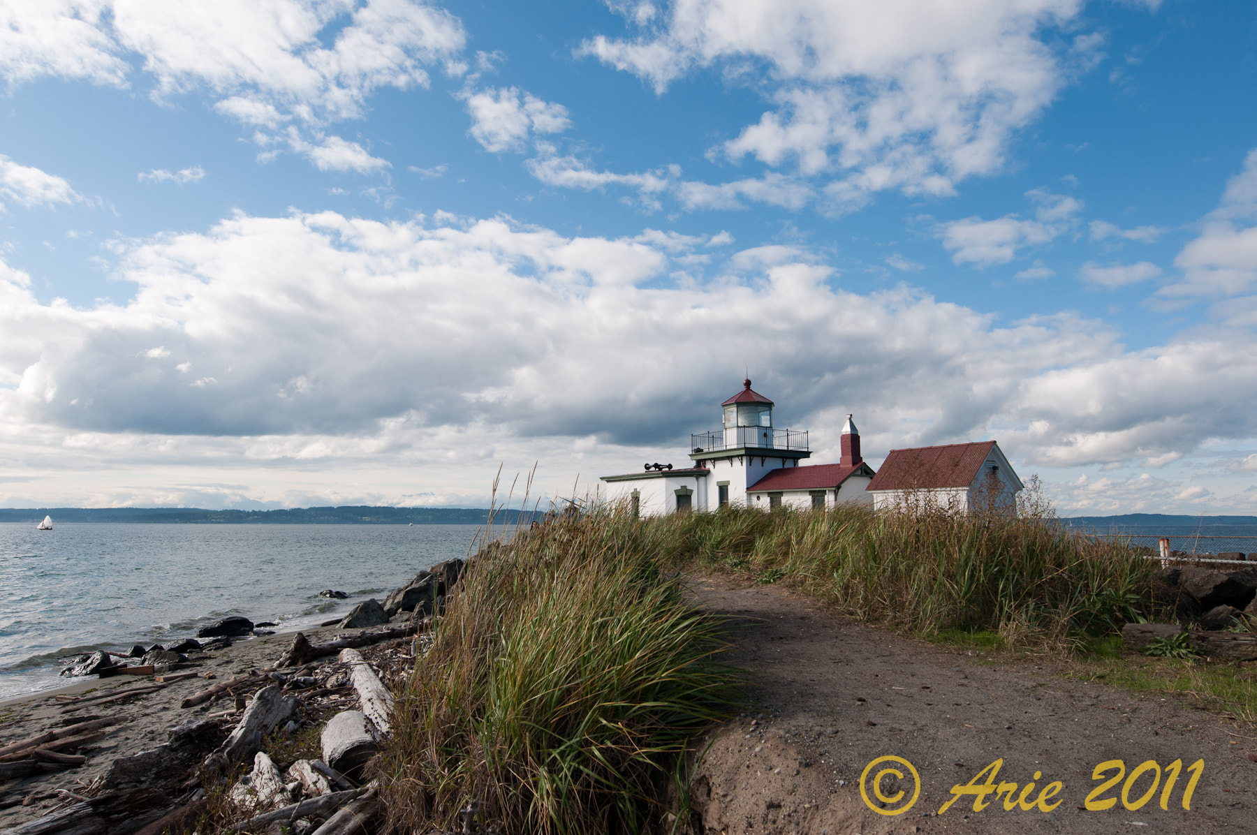 Photograph Lighthouse in Discovery Park by Coogie on 500px