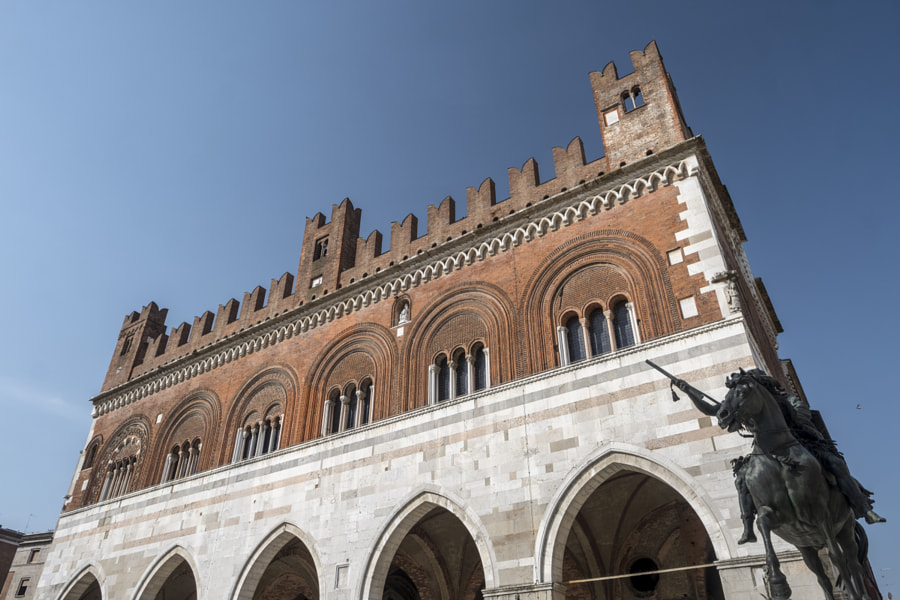 Piacenza: Piazza Cavalli, main square of the city by Claudio G. Colombo on 500px.com