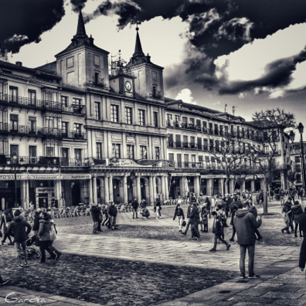 Plaza Mayor Segovia, Nikon COOLPIX P6000
