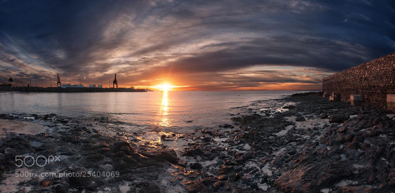 Photograph Sunset 21 dec by Juan Antonio Santana on 500px