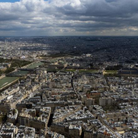 Paris from above, Panasonic DMC-FZ45
