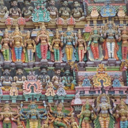 shree meenakshi temple, Sony DSC-H20