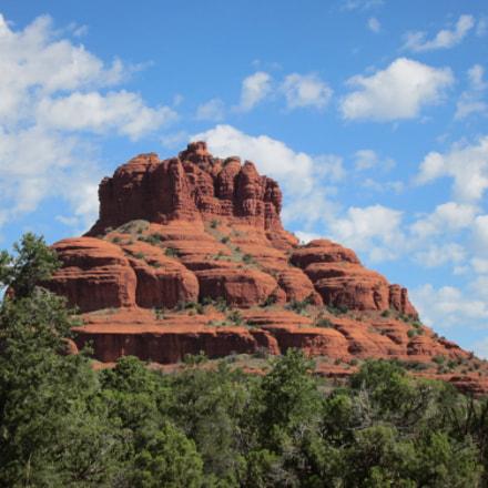 Sedona Red Rocks, Canon POWERSHOT ELPH 500 HS