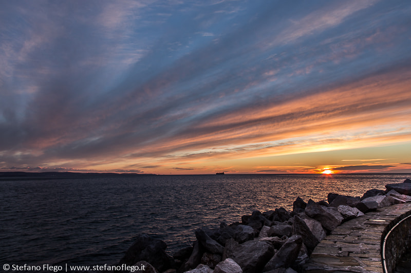 Photograph Today Sunset in Trieste by Stefano Flego on 500px