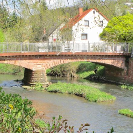 Die Brücke, Canon IXUS 155