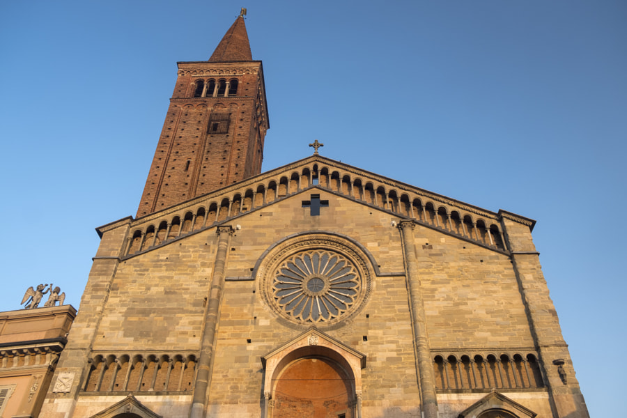 Historic cathedral in Piacenza, Italy by Claudio G. Colombo on 500px.com