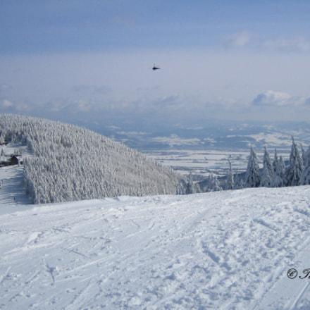 Panorama z Klimczoka m, Canon DIGITAL IXUS 40