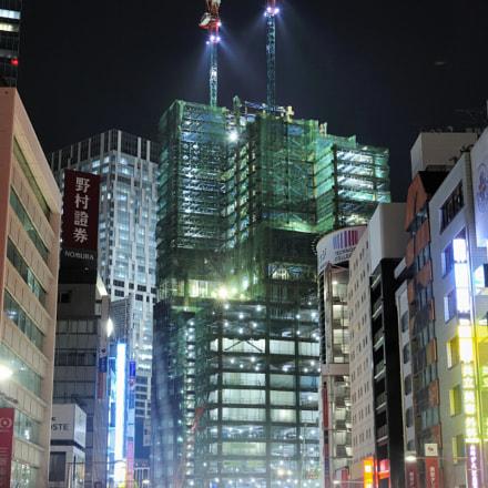 Building construction_Shibuya, Nikon D700, AF-S Nikkor 24-120mm f/4G ED VR