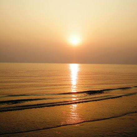 Tranquil sunset, Nikon COOLPIX S700