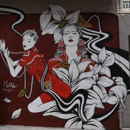 HK Sheung Wan Graffiti, Nikon D750, AF-S Zoom-Nikkor 24-70mm f/2.8G ED
