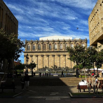 Teatro Degollado, Sony DSC-HX20V