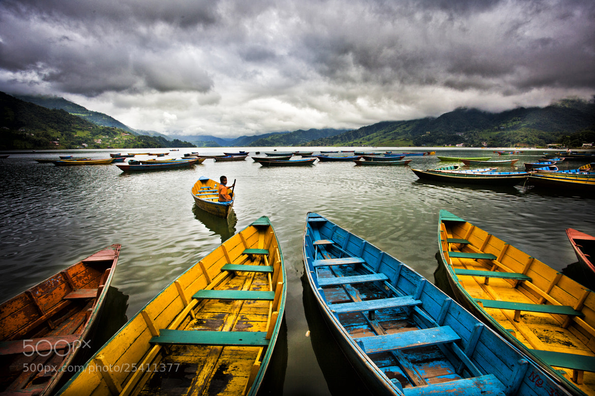 Photograph Colorful boats by drmuratunal on 500px