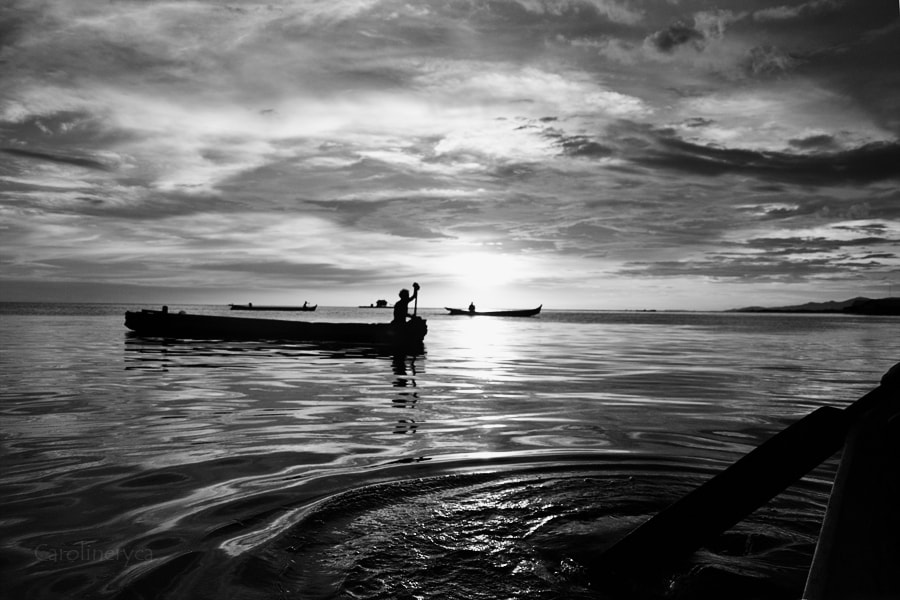 Photograph The way we live by the sea by Caroline Ryca on 500px
