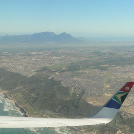 Turning towards Cape Town, Panasonic DMC-FZ20