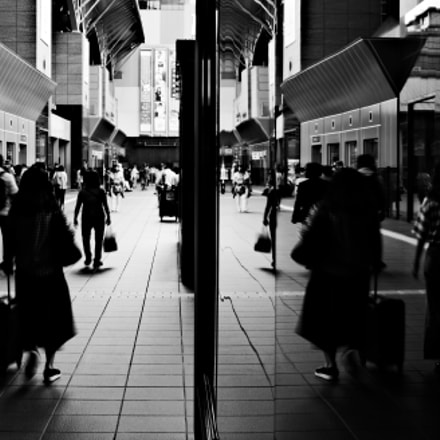 Kyoto Station., Pentax K-5 II S, smc PENTAX-DA 35mm F2.4 AL