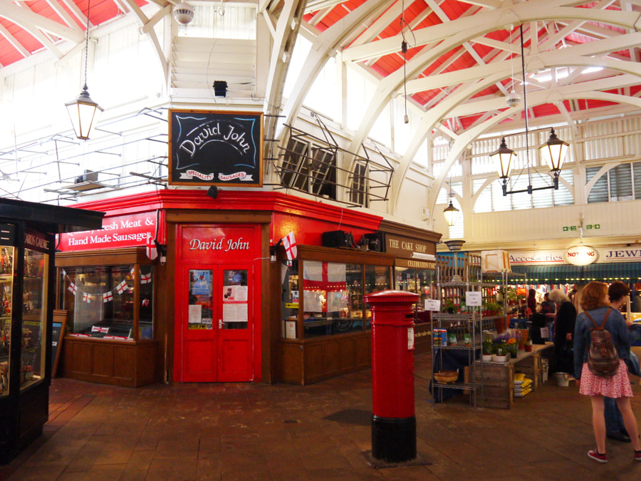 Covered Market, Oxford, UK by Sandra  on 500px.com