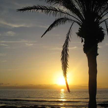 Magic sunset, Canon POWERSHOT A610