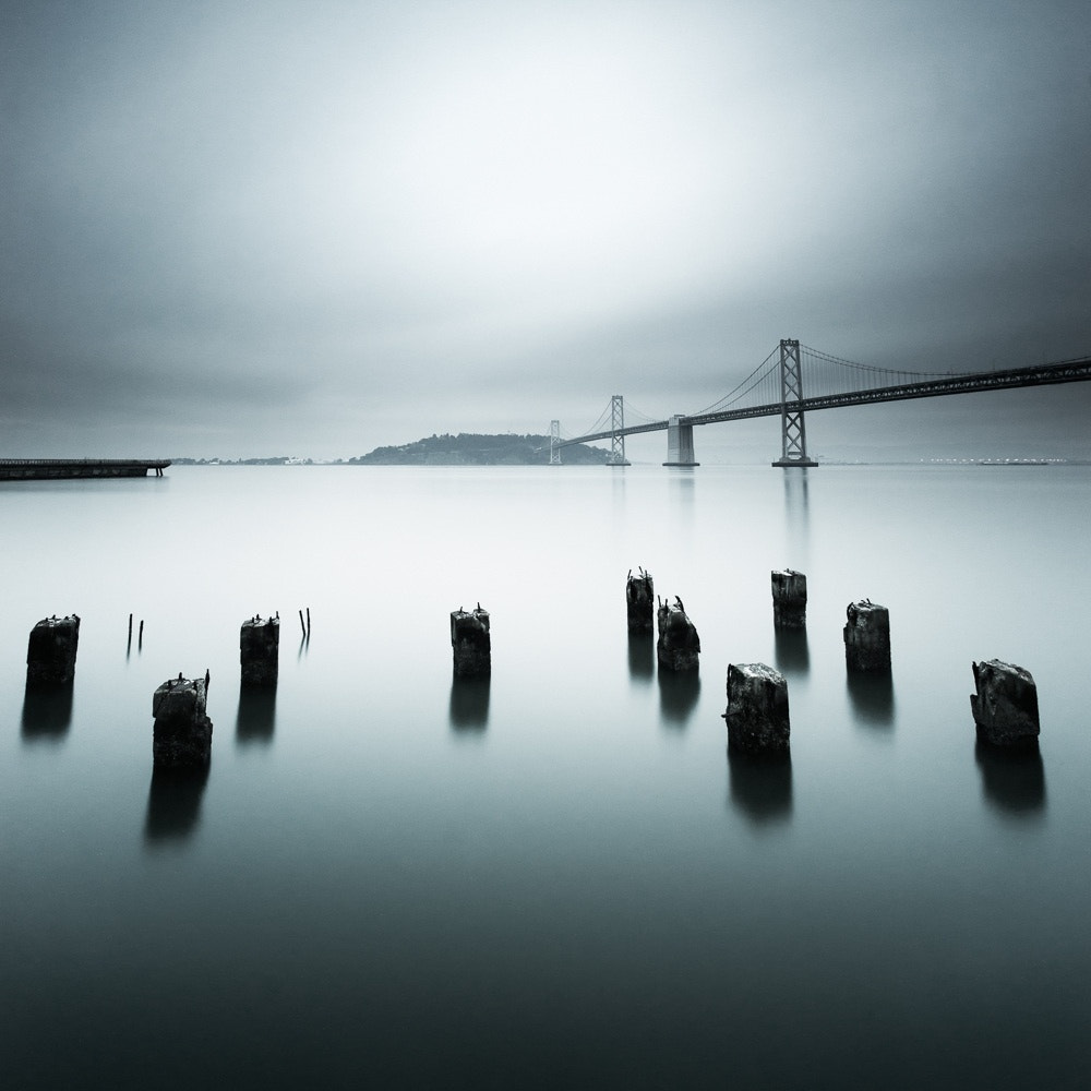Photograph Bay Bridge Blues by Grant Murray Photography on 500px